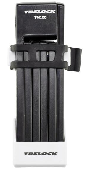 Trelock FS 200/75 TWO.GO Cykellås 75 cm hvid